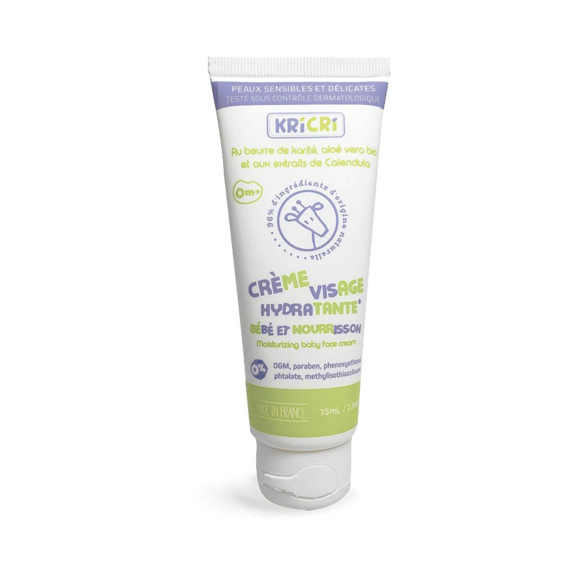 Crème visage hydratante bébé et nourrisson 75 ml